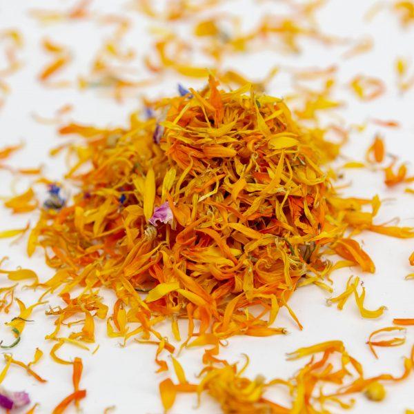 Suho jedilno cvetje - mešanice