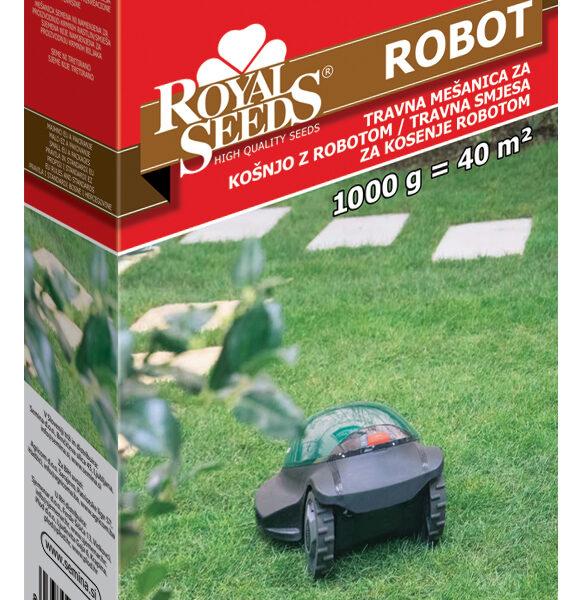 travna mešanica robot